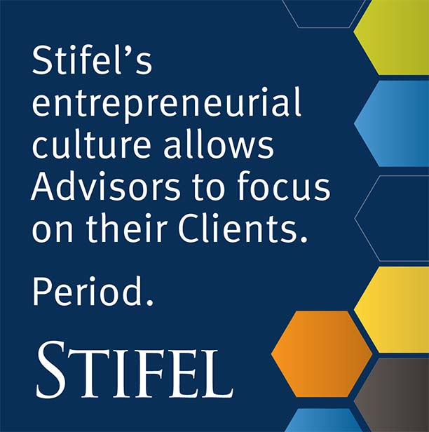 Learn why 1,500 of your peers have made Stifel their Firm of Choice since 2009