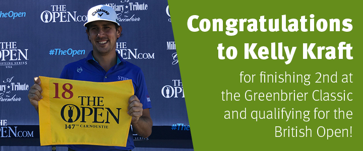 Congratulations to Kelly Kraft!