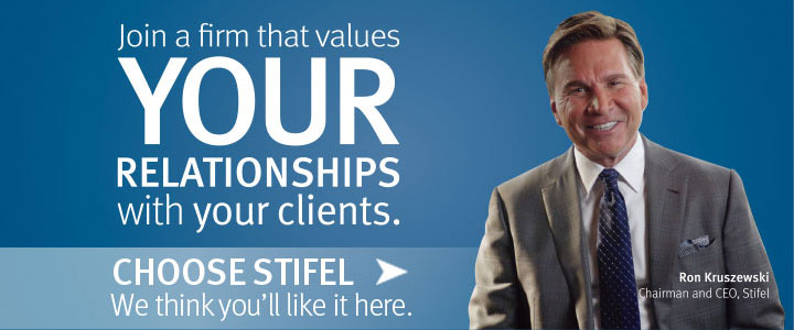 Choose Stifel - We think you'll like it here.