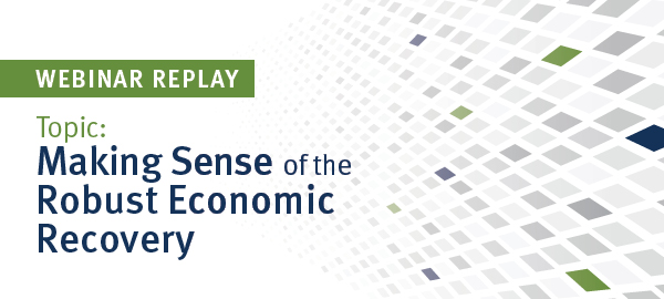 Making Sense of the Robust Economic Recovery